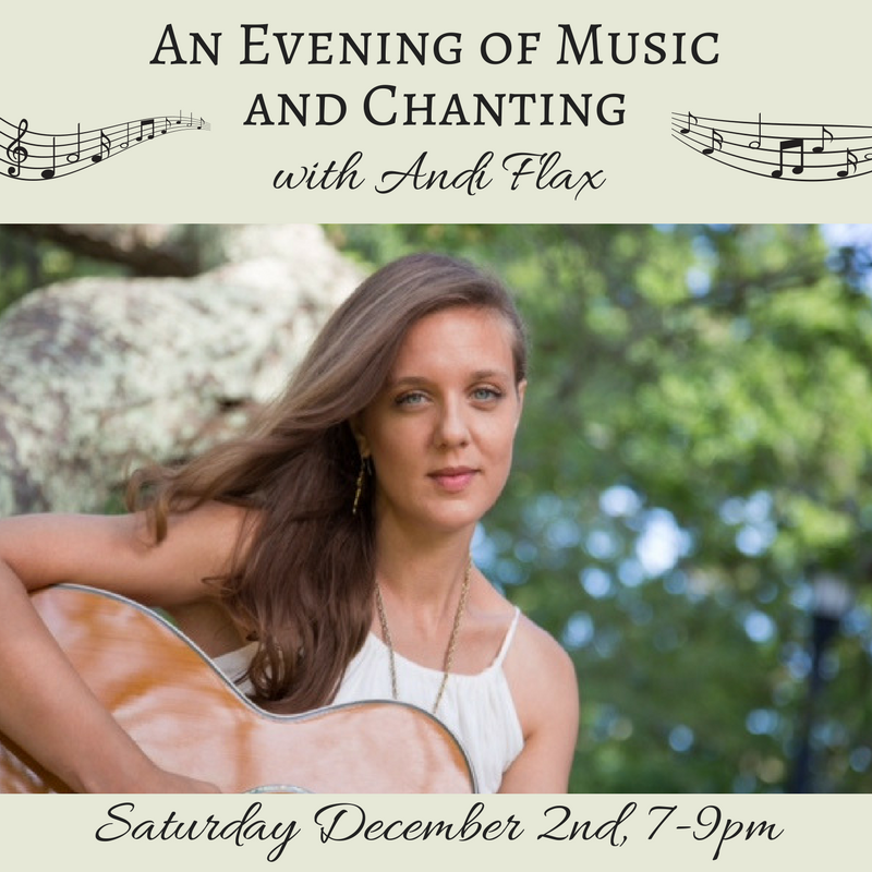 An Evening of Music and Chanting with Andi Flax