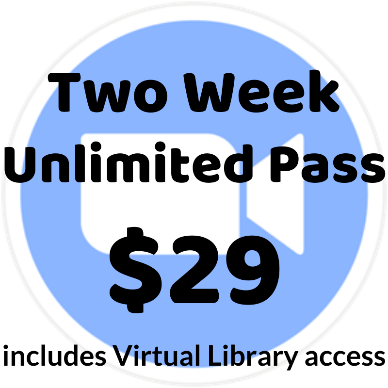 Two Week Unlimited Pass - $29